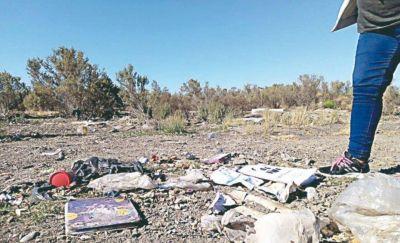El Municipio intensifica controles por basura arrojada en lugares no permitidos