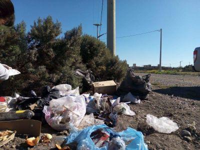 Intensos controles por arrojo de basura