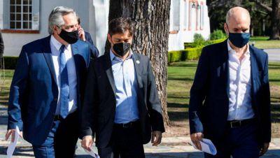 Segunda Ola: Alberto le pidió a Kicillof que coordine medidas con Larreta