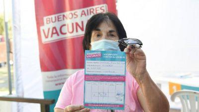 Morón recibió más de 20 mil vacunas contra el Coronavirus