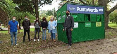 Concejales de Juntos por el Cambio acompañaron la campaña informativa sobre la recolección diferenciada
