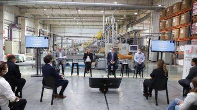El ministro de Producción relanzó en Pilar un programa de financiación para Pymes