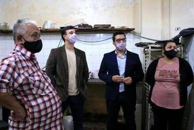 """""""Lanús para Lanús en el Frente de todos"""": Alexandre Roig junto a Agustín Balladares visitaron empresas cooperativas"""