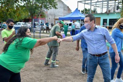 """""""Mi Plaza Limpia"""": Watson recorrió uno de los proyectos ganadores"""