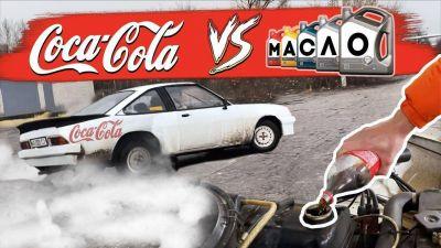 ¿Qué pasa si echas Coca-Cola en el motor en lugar de aceite?