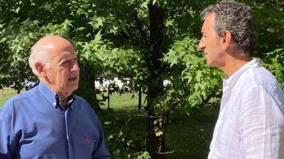 """Roberto Lavagna se reunió con Florencio Randazzo: """"Profundizamos nuestras coincidencias en temas prioritarios"""""""
