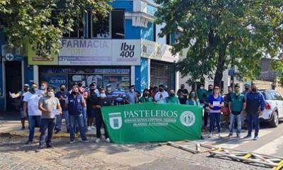 Pasteleros acompaña la lucha de los trabajadores de Congelados Fausto