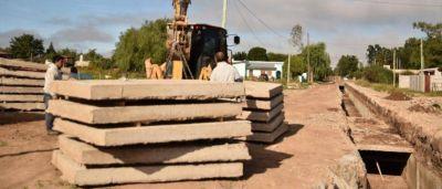 Obras de infraestructura en Lobería