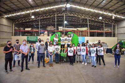 """Realizan en Escobar capacitación sobre separación y tratamiento de residuos sólidos urbanos a titulares del programa Nacional """"Potenciar Trabajo"""""""