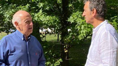 Randazzo se acerca a Lavagna y evalúa una candidatura por el peronismo opositor