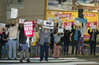 Vecinos de Boedo volvieron a convocar a un semaforazo en contra de la rezonificación
