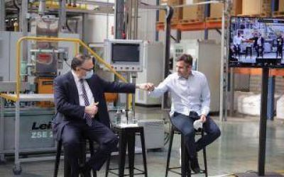 Pilar: Kulfas y Achával lanzaron programa de apoyo a las PyMEs