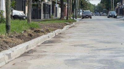 Renuevan más de cinco mil metros cuadrados de pavimento en Boulogne