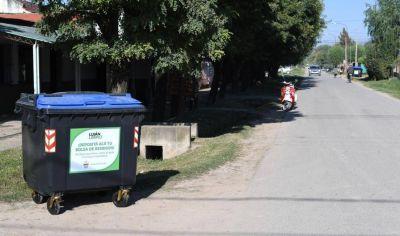 Se instalaron contenedores en el barrio Juan XXIII