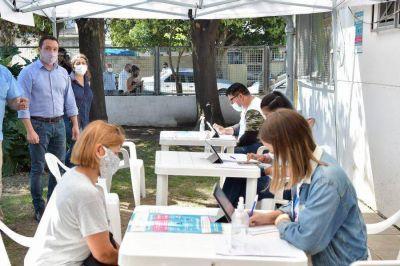 Operativo de vacunación: en Florencio Varela se vacunan más de tres mil personas por día