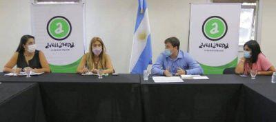 Avellaneda: Chornobroff y Sierra se reunieron con la Mesa de Articulación Sanitaria
