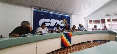 """La CTA- Autónoma se movilizará el miércoles 7 de abril bajo la consigna: """"Para terminar con el hambre: trabajo, producción, soberanía y justicia"""""""""""