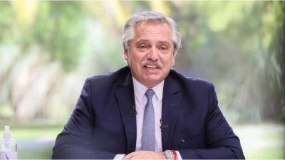 Alberto presenta el régimen de fomento a inversiones para exportaciones