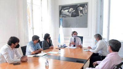 Cafiero encabezó otra reunión con Ciudad y Provincia para analizar la situación en el AMBA