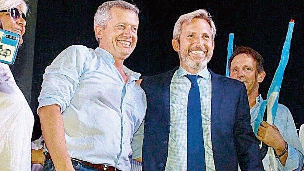 Frigerio y Monzó, los rivales de Mauricio Macri dentro de JxC