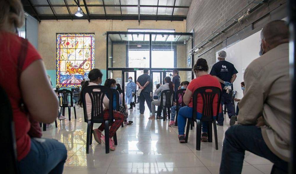 ACUMAR continúa participando de los operativos de vacunación en toda la Cuenca
