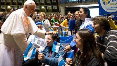 El Papa a los jóvenes: Dios tiene sed de ustedes