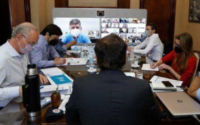 Kicillof se reúne con intendentes del AMBA para analizar la situación epidemiológica