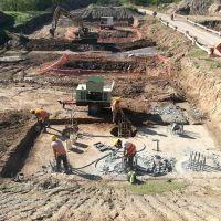 Avanza la construcción del nuevo puente de Olivera