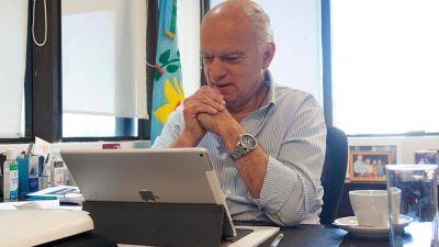 """Grindetti reclamó que los piquetes dejen de ir en """"contra de los protocolos sanitarios"""""""