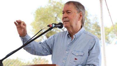 El Gobernador anunció la obra de desagüe de la calle Lucio Rossi
