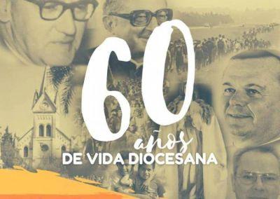Mons. Collazuol invitó a la comunidad a vivir en comunión el 60° aniversario