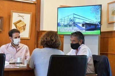 El municipio anunció obras en establecimientos educativos: el CEF Nº 105 tendrá finalizado su edificio, entre otros