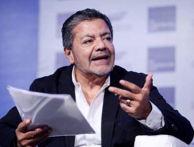 """Gerardo Martínez pidió que no se detengan las obras en curso y afirmó que """"no son fuente de contagio"""""""