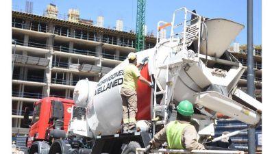 La construcción operó 23% por encima de la prepandemia