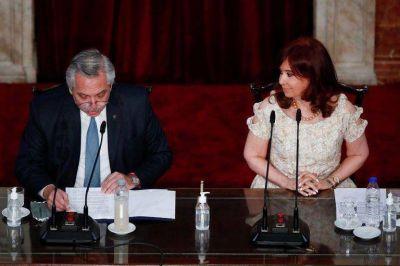 """Alberto Fernández: """"Cristina Kirchner es inocente y finalmente lo va a probar"""""""
