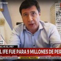 Daniel Arroyo habló sobre el IFE: ¿A quiénes entregarían un apoyo económico?