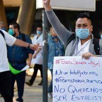 Médica Sur genera conversación en Twitter gracias a protesta de médicos privados