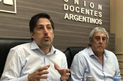 """Sergio Romero se reunió con Trotta y pidió """"que enfatice en los recaudos sanitarios en todas las escuelas del país"""""""