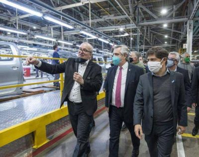 Una buena: la actividad industrial creció 6,1% en enero