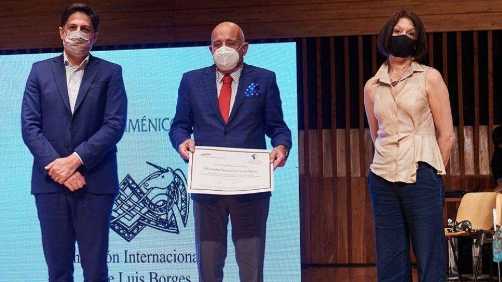 La Bienalsur de la UNTREF fue distinguida con el Premio al Emprendedor Solidario