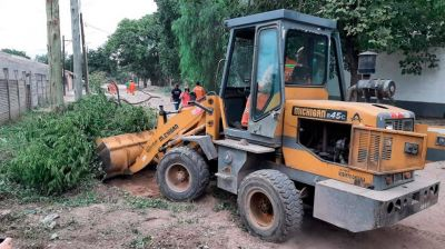 La Banda: continúan con la erradicación de minis basurales