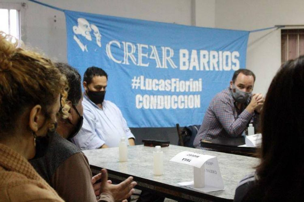 """Referentes barriales lanzaron """"CreAr Barrios"""" que se sumó al espacio de Lucas Fiorini"""
