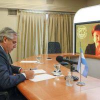 Alberto Fernández juega su acuerdo con el FMI a una negociación secreta que apoyan Biden y la Unión Europea