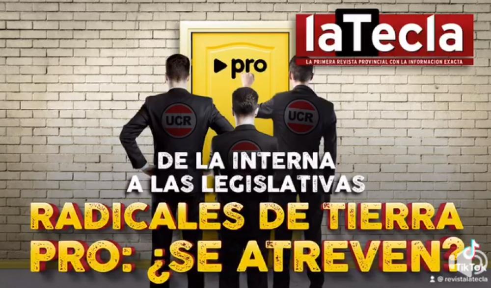 Radicales de tierra Pro: ¿Se animan a las PASO?