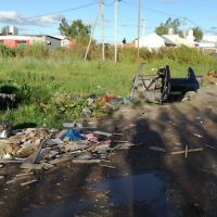 Vecinos hartos por los basurales en Altos de San Lorenzo