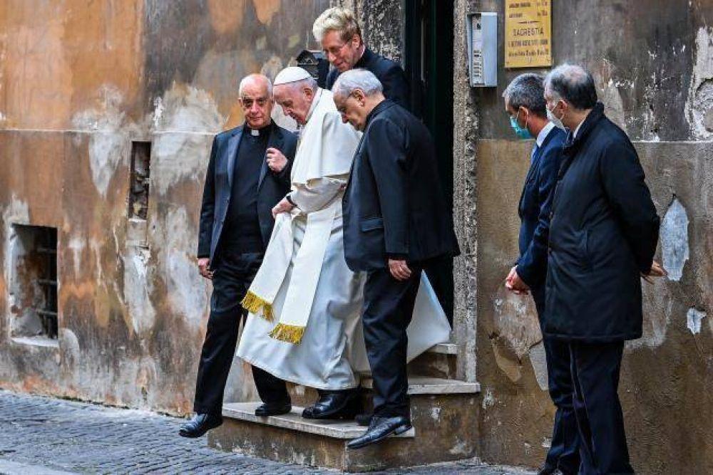 Francisco: Compartir no es comunismo, es cristianismo puro