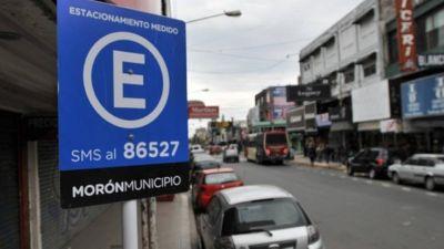 Morón libera el estacionamiento medido hasta el 30 de abril
