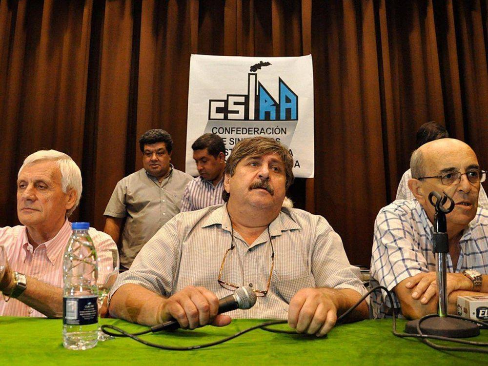 Caló y Pignanelli reflotan su alianza en la Confederación de Gremios Industriales para apoyar a Alberto y posicionarse como bloque de poder