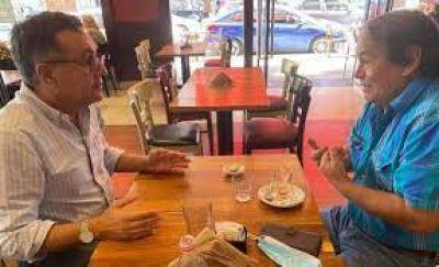 Toty Flores vs. Finocchiaro, el mano a mano de JxC en La Matanza
