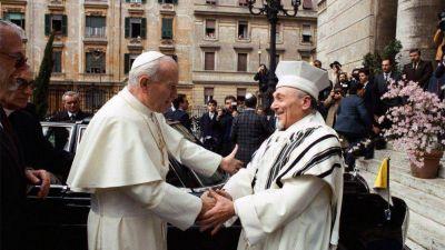La histórica visita de San Juan Pablo II a la Sinagoga de Roma hace 35 años